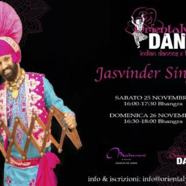 Workshop y Show de Bhangra en Italia