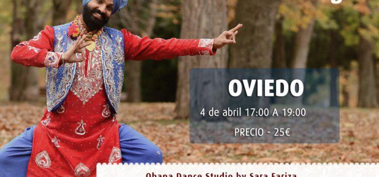 Taller de bhangra en Oviedo 4 de abril